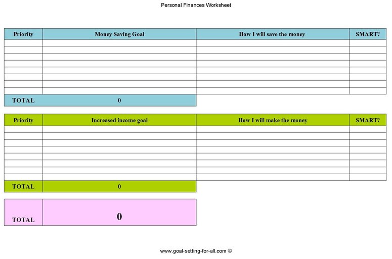 download free personal finance worksheets here