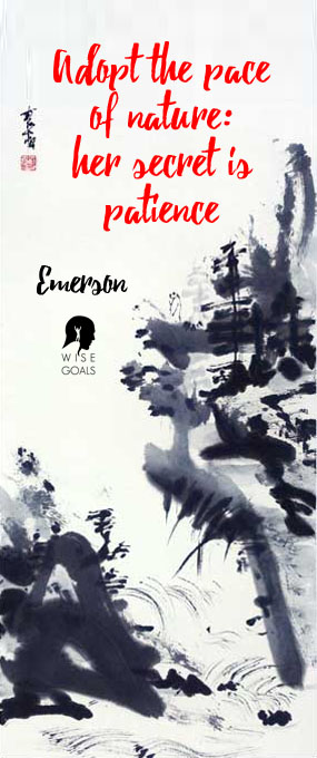 Japanese Artwork and Emerson Quote