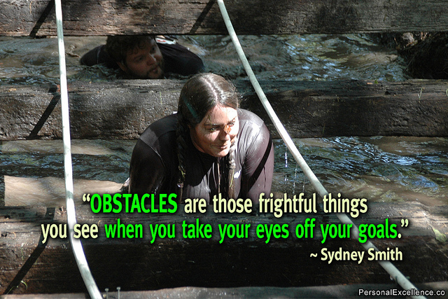 Sydney Smith quote about obstacles