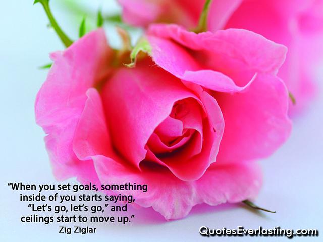 Zig Ziglar on setting goals